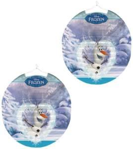 Lampion Olaf   rund 25 cm   Disney Eiskönigin   Frozen   Kinder Laterne