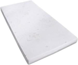 Unser Sandmännchen Matratze mit eingenähten Stickereien, Schadstofffrei Größe 60x120