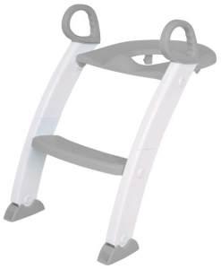 KidsBo Toilettentrainer in Grau/Weiß