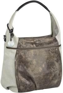 LÄSSIG Baby Wickeltasche Babytasche Stylische Tasche inkl. Wickelzubehör/Casual Hobo Bag olive / beige