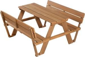 Roba 'PICKNICK for 4' Kindersitzgruppe Deluxe, mit Lehne braun