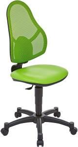 Topstar Open Art Junior, Bürostuhl, Schreibtischstuhl für Kinder und Jugendliche, Bezugsstoff, grün