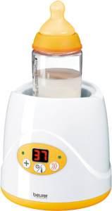 Beurer 'BY 52' Babykost- und Fläschchenwärmer, 8 Minuten Aufwärmzeit, digitale Temperaturanzeige, passend für alle handelsüblichen Babyflaschen
