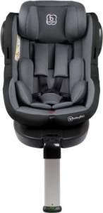 BabyGO - Kinderautositz Iso360 Grau (Kollektion 2018)