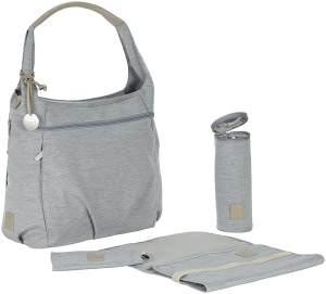LÄSSIG Baby Wickeltasche Stylische Tasche nachhaltig Babytasche/Green Label Hobo Bag