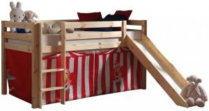 Pino Spielbett Natur lackiert 90x200 cm Zirkus Soft