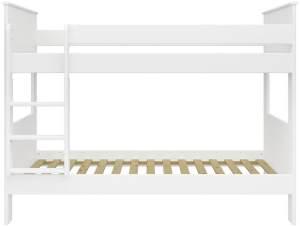 STEENS 'ALBA' Etagenbett 90 x 200 cm, Weiß, inkl. Lattenroste