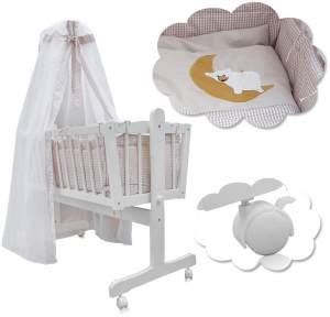 Babywiege inkl. Textil-Set