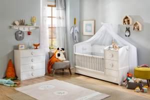 Cilek 'BABY COTTON' 4-tlg. Babyzimmer-Set