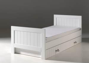 Vipack 'Lewis' Bett 90 x 200 cm inkl. Bettschublade
