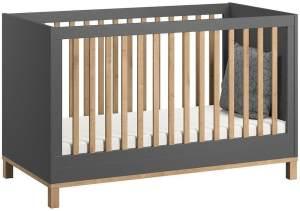 Vox 'Altitude' Kombi-Kinderbett grau / natur