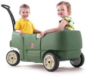 Bollerwagen mit Beckengurt, Kunststoff, Transportwagen