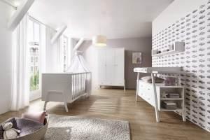 Schardt 'Holly White' 3-tlg. Babyzimmer-Set