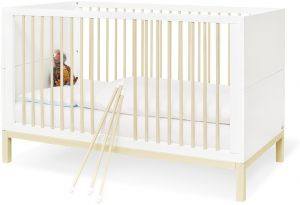 Pinolino 'Skadi' Kinderbett cremeweiß