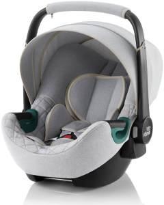 Britax Römer 'BABY-SAFE3 i-Size' Babyschale 2021 BR Nordic Grey, 0 bis 13 kg (Gruppe 0+)
