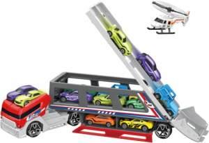 Besttoy - Autotransporter mit 8 Fahrzeugen