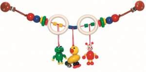 Hess-Spielzeug Wagenkette, Ente/Frosch