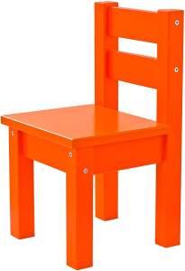 Hoppekids MADS, teilmassiv, sehr stabil, viele Farben, Holz, orange, 28 x 28 x 50 cm