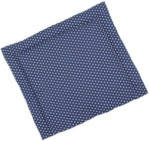 Sugarapple Wickelauflage dunkelblau, Sterne