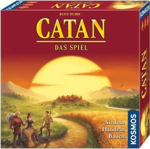 Kosmos 'Catan - Das Spiel' Brettspiel, ab 10 Jahren, 3 - 4 Spieler, ca. 75 min Spielzeit, viele Auszeichnungen u.a. Spiel des Jahres 1995, Spiel des Jahrhunderts 2000