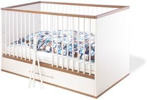 Pinolino 'Tuula' Kombi-Kinderbett weiß / natur