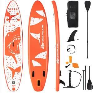 COSTWAY 335 x 76 x 15cm Stand Up Paddling Board, SUP Board aufblasbar