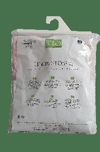 LULANDO Zwei Wickelunterlagen aus Frottee Größe S - Rosa/Weiß