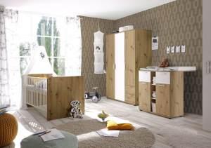 Babyzimmer-Set 3-teilig BIBO