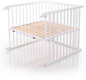 Babybay Kinderbett-Umbausatz für Maxi, weiß lackiert