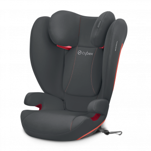 Cybex Silver 'Solution B-Fix' Kindersitz 2020 Steel Grey Gruppe 2/3