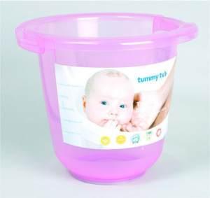 Domovital Badeeimer Tummy Tub pink