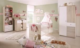 Ticaa 'Lilli' 4-tlg. Babyzimmer-Set beige