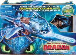 Spin Master Drachenzähmen leicht gemacht Movie Line Feature Fire Breathing Toothless, Spielfigur, Actionfigur