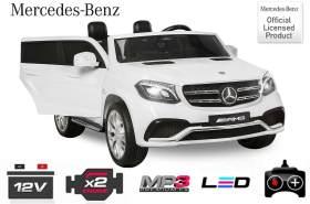 Elektro Kinderauto Mercedes-Benz GLS63 4x35W Allrad Weiss