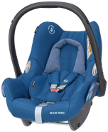 Maxi-Cosi 'Cabriofix' Babyschale 2020 Essential Blue von 0-13 kg (Gruppe 0+)