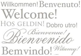 Living Sticker Welcome