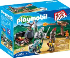 Playmobil Knights 70036 'StarterPack Kampf um den Ritterschatz', 39 Teile, ab 4 Jahren