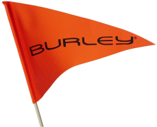 Burley SICHERHEITSFLAGGE 2-TEILIG Logo