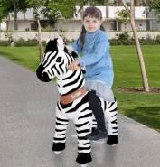 PonyCycle U Zebra für 4-9 Jahre