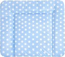Zöllner Wickelauflage Softy Folie Sterne blau 75x85