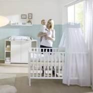 Schardt 108605202 Sparset Maximo, weiß, bestehend aus Kombi-Kinderbett und Wickelkommode