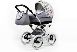 SaintBaby Kinderwagen Retro Buggy Mint 2in1