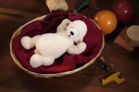 Kösen Eisbär Smilla 19cm limitiert