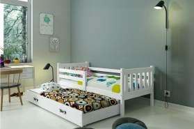 Stylefy Jan mit Extrabett Funktionsbett Weiß