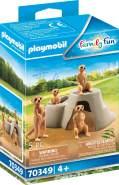 Playmobil Family Fun 70349 'Erdmännchenkolonie', 5 Teile, ab 4 Jahren