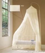 Baldachin für Kinderzimmer in Weiss oder Natur, 60 cm x 240 cm natur