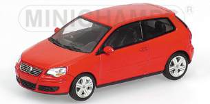 VOLKSWAGEN POLO - 2005 - rot