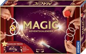Kosmos Magic Adventskalender 2020, 24 spannende Zaubertricks und Zauber-Utensilien für die Adventszeit, Spielzeug-Adventskalender zum Zaubern für Kinder ab 8 Jahre