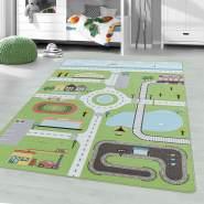 Kinderzimmer Kinderzimmerteppich 120x170 Grün