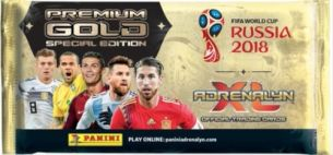 Adrenalyn FIFA World Cup Russia Sondertüte Premium Gold